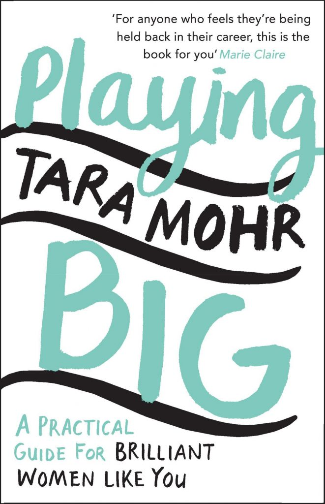 The book cover of Playing Big by Tara Mohr